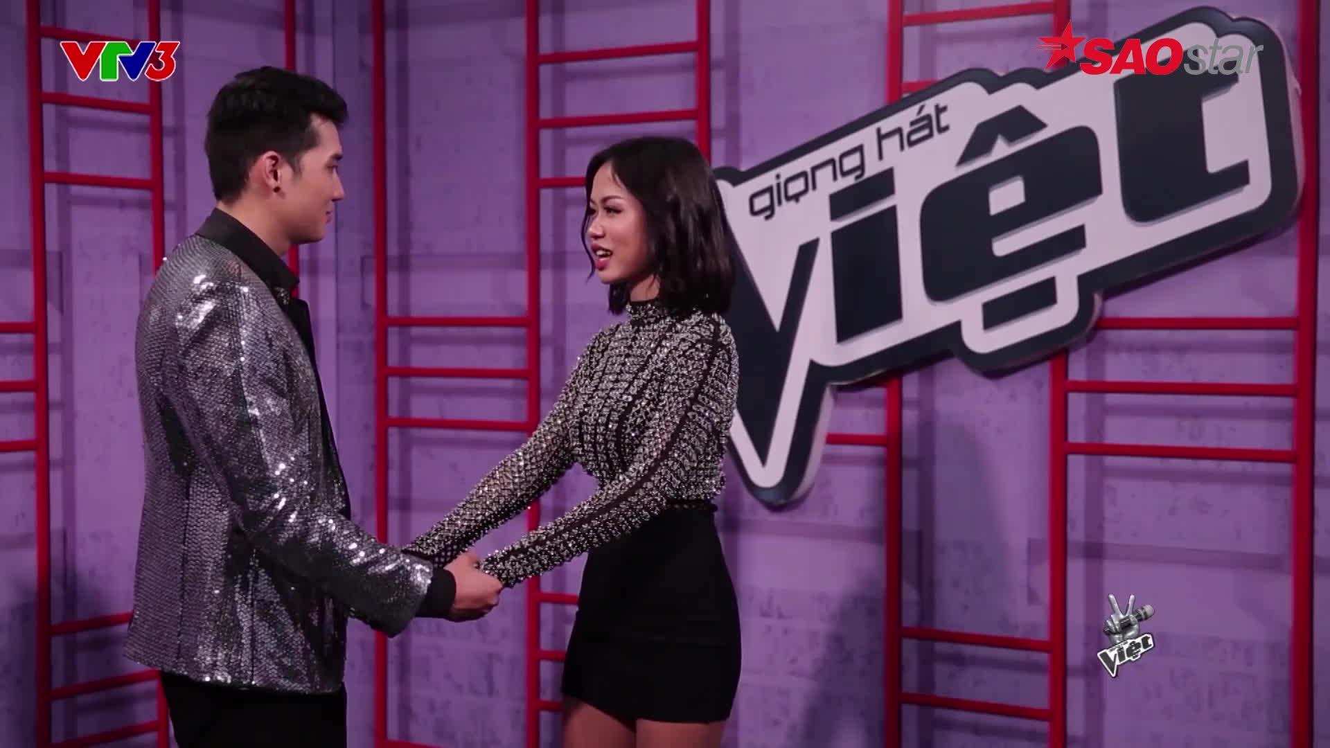 Cặp đôi học trò Thu Minh tại The Voice tình tứ từ sân khấu đến ngoài đời thế này đây!