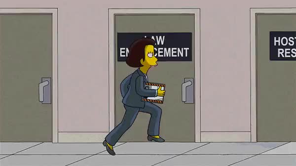 """Watch FBI's priorities (GIF from The Simpsons S25E09 """"Steal This Episode"""") : gifs GIF on Gfycat. Discover more related GIFs on Gfycat"""