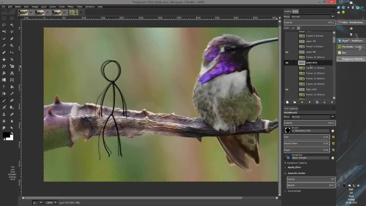 reallifedoodles, here's a 2hour timelapse (reddit) GIFs