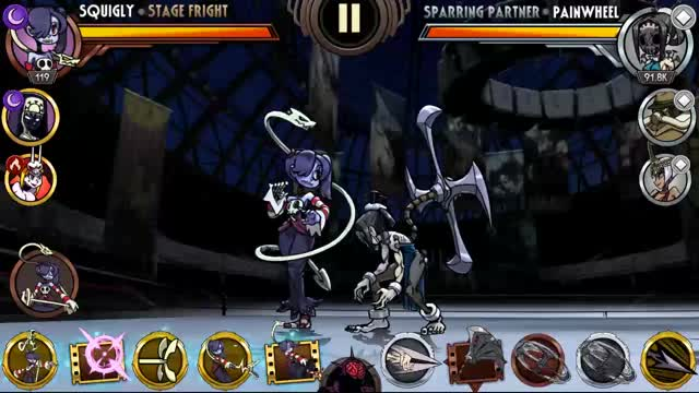 Watch Squigly Combo Advanced GIF by Skullgirls Mobile (@sgmobile) on Gfycat. Discover more related GIFs on Gfycat