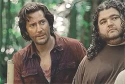Watch and share Desmond Hume GIFs and Hurley Reyes GIFs on Gfycat