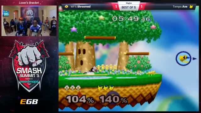 Smash Summit 3 - Axe vs. Shroomed - Lower Bracket Round 3