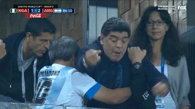 Watch Maradona FU GIF by @elvjag on Gfycat. Discover more related GIFs on Gfycat