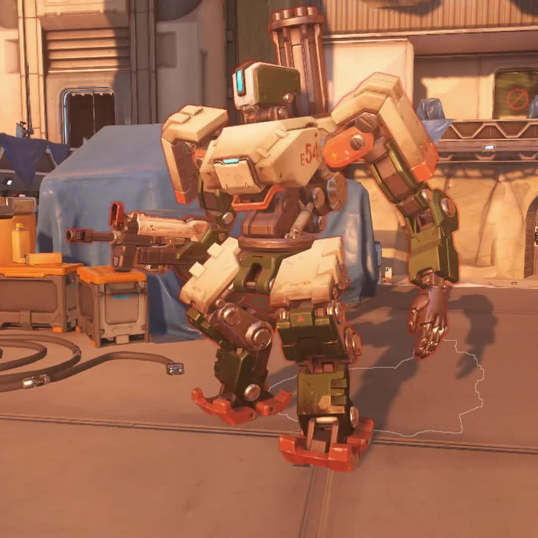 highlight, overwatch, Bastion Transformation GIFs