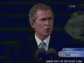 Watch and share George Bush Funny Face GIFs on Gfycat