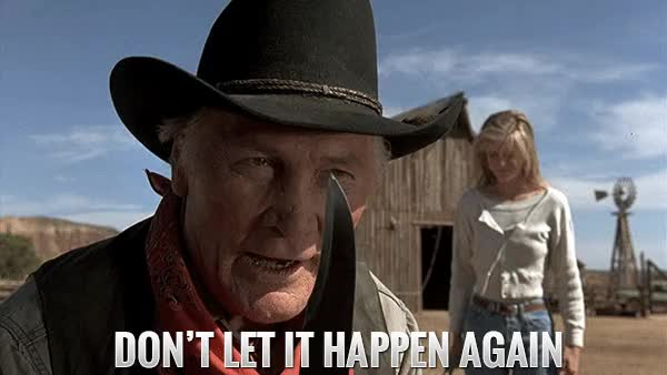 Watch and share Jack Palance Dont Let It Happen Again Gif  Curly City Slickers GIFs on Gfycat