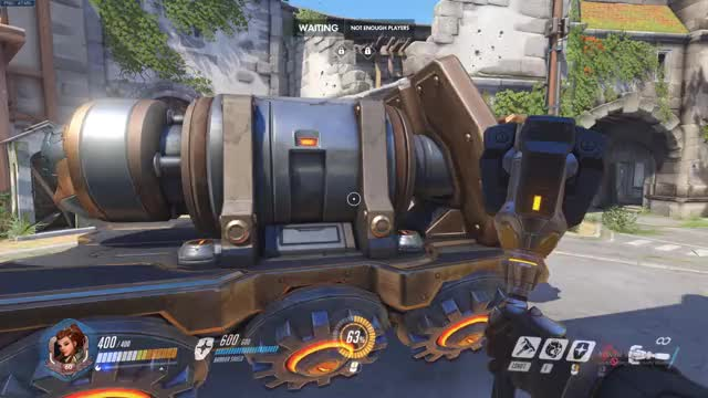 Watch and share Brigitte Shield Bash Route GIFs by arcticsw on Gfycat