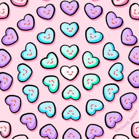 Watch and share Candy Hearts – Monster GIFs on Gfycat
