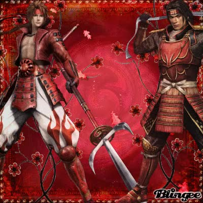 Watch Yukimura Sanada Crossover Samurai Warriors & Sengoku Basara GIF on Gfycat. Discover more related GIFs on Gfycat