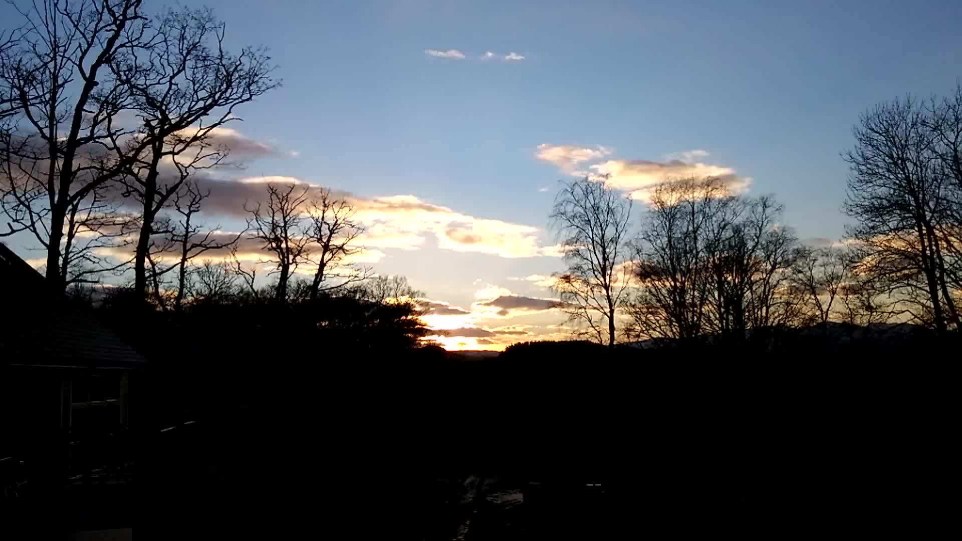weathergifs, Sunset time lapse, Crieff GIFs