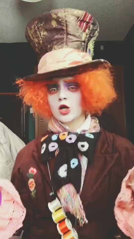 Watch and share Madhatter GIFs and Cosplay GIFs by TikTok on Gfycat