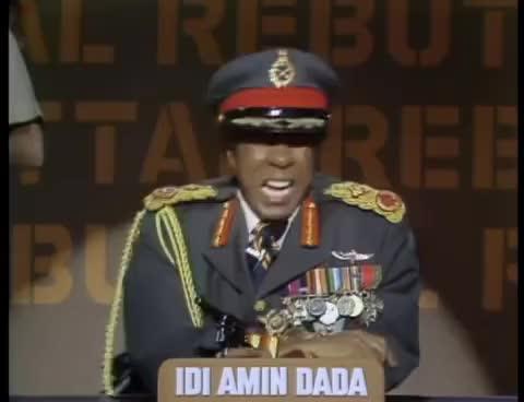 Watch and share The Richard Pryor Show - Uganda's Idi Amin Dada GIFs on Gfycat
