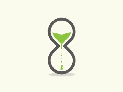 Watch and share Hourglass GIFs and Money GIFs by timekeeper on Gfycat
