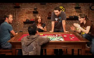 Watch this GIF on Gfycat. Discover more board games, fun gif, geek and sundry, table top, ticket to ride, wil wheaton GIFs on Gfycat