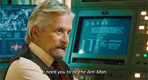 Watch and share Michael Douglas GIFs and Ant Man GIFs on Gfycat