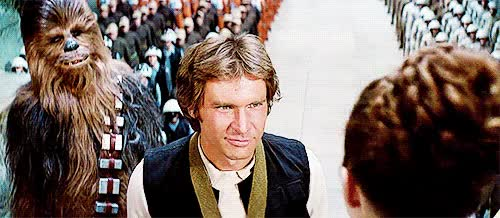 Watch and share I Know Han Solo GIFs on Gfycat