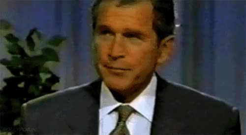 Watch and share George Bush Flipping Off GIFs on Gfycat