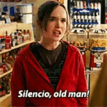Watch and share Ellen Page GIFs and Silence GIFs on Gfycat