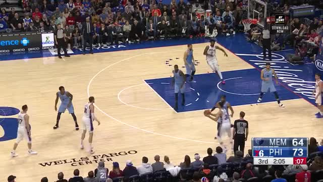 Watch and share Philadelphia 76ers GIFs and Memphis Grizzlies GIFs by queener1994 on Gfycat