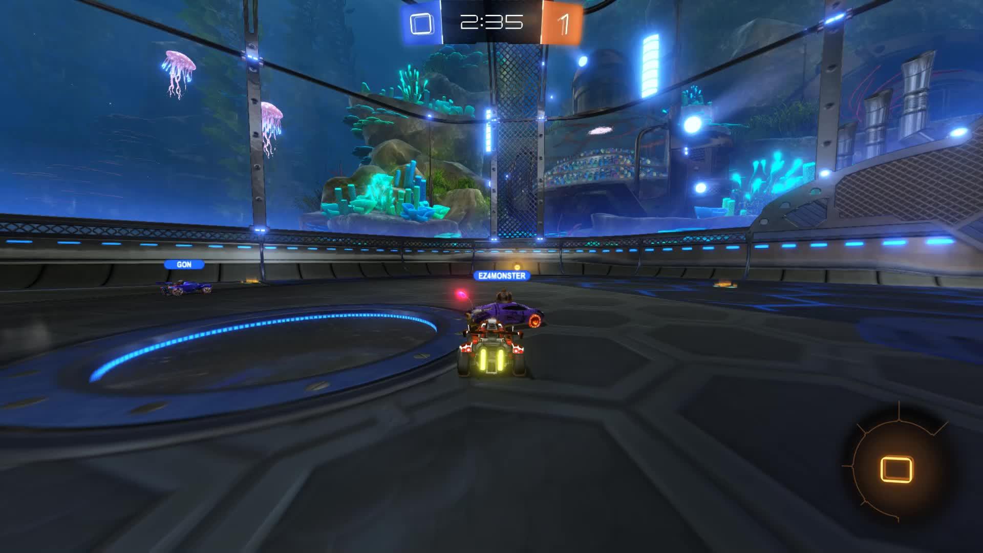 Gif Your Game, GifYourGame, Goal, Rocket League, RocketLeague, Squash, Goal 2: Squash GIFs