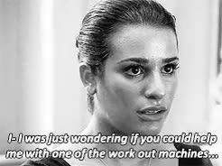 Watch and share Idk What This Is GIFs and Rachel Berry GIFs on Gfycat