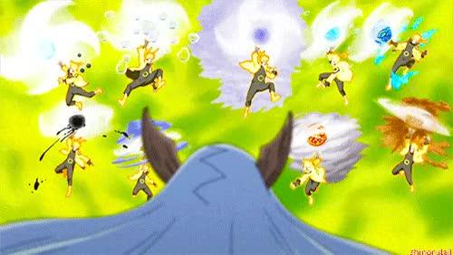 Watch and share Sage Art: Super Tailed Beast Rasen-Shuriken! GIFs on Gfycat