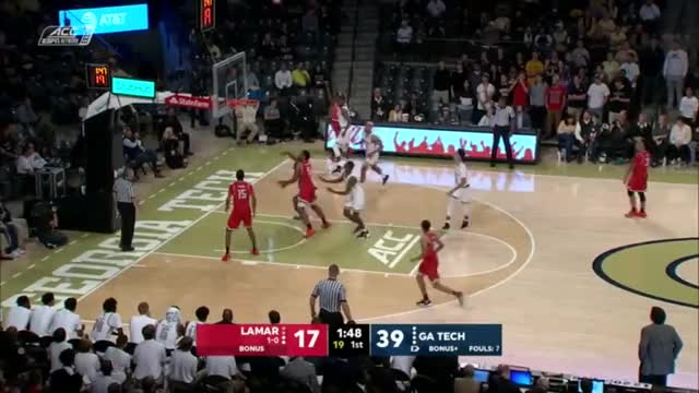 Watch Lamar at Georgia Tech, 11/12/18 GIF on Gfycat. Discover more People & Blogs, basketball, hornburner uploads GIFs on Gfycat