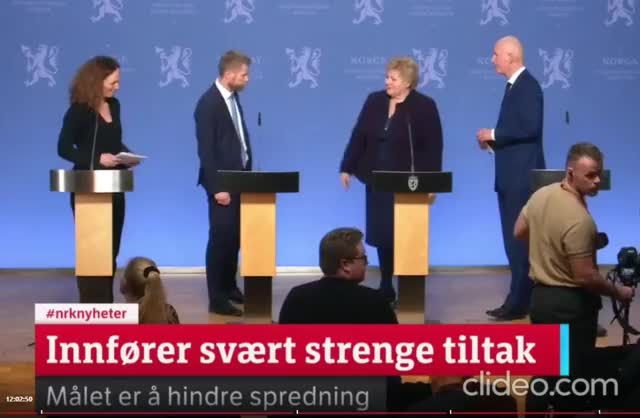 Watch and share Norwegian Cabinet After Press Conference On Corona GIFs by MyNameGifOreilly on Gfycat