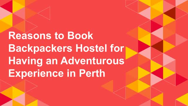 Watch and share Reasons To Book Backpackers Hostel For Having An Adventurous Experience In Perth GIFs by The old swan Barracks on Gfycat