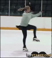 Watch and share Ice Skating Fails GIFs on Gfycat