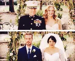 "Watch calzona week"" day 3: wedding day  To celebrate love and happ GIF on Gfycat. Discover more *calzonaweek, *mine, 7x20, arizona robbins, callie torres, calzona, calzonaweek2015, grey's anatomy, greysedit, ~ GIFs on Gfycat"