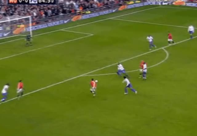 Watch and share Cristiano Ronaldo Miss Vs Portsmouth 08.03.2008 GIFs by FIFPRO Stats on Gfycat
