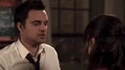 Watch and share New Girl 2x21 GIFs and Nick And Jess GIFs on Gfycat