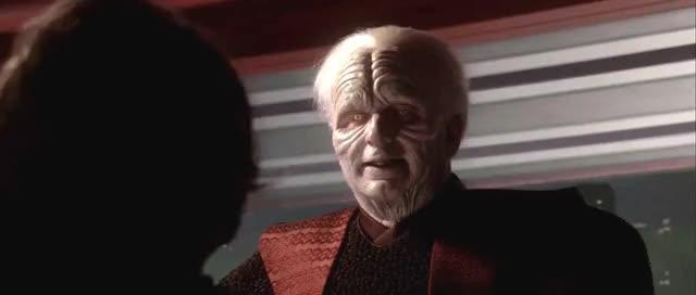 Watch and share Good #1 Palpatine To Anakin GIFs on Gfycat