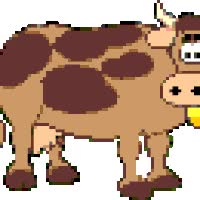 Watch and share La Vaca, Muu, La Misma Vaca animated stickers on Gfycat