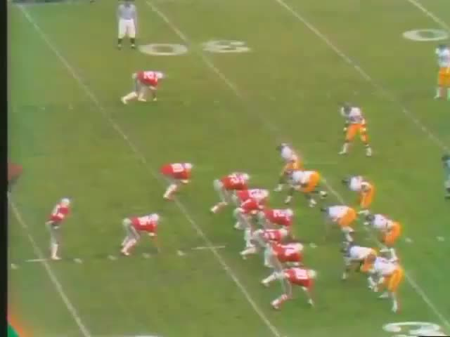 Watch and share 1974 Rose Bowl USC Vs Ohio State No Huddle GIFs by patrickmayhorn on Gfycat
