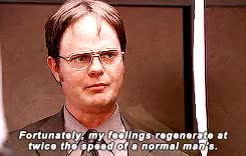 Watch i am not to be truffled with. GIF on Gfycat. Discover more Rainn Wilson, dwight schrute, gifset, jim halpert, lecture circuit, lol, mine, the 8th gif is how i feel about this gifset, the office, theofficeedit GIFs on Gfycat