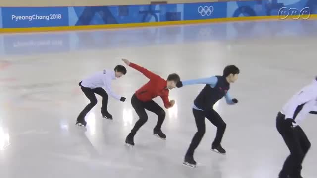 Watch Olympic figure skaters pretend to be short track speed skaters GIF by @daz8 on Gfycat. Discover more related GIFs on Gfycat