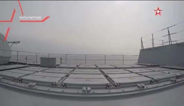 Watch and share Фрегат «Адмирал Макаров» Открыл Огонь Новейшими Ракетами На Балтике GIFs on Gfycat