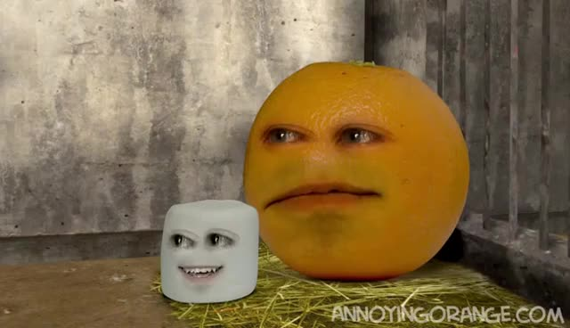 Annoying Orange, Funny, Marshmallow, Panda, Sneezing Marshmallow GIFs