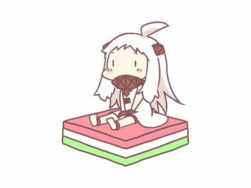 kanmusu, Hoppo, your best bet is to run when the other two start fighting. Actually, just start running now. (reddit) GIFs