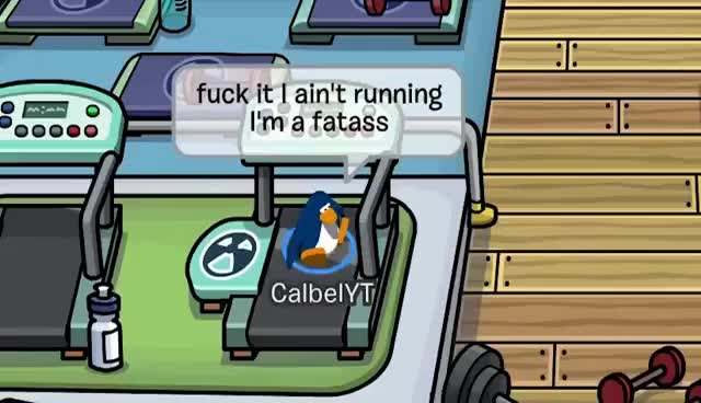 Watch and share FUNNY CLUB PENGUIN BANS 5 GIFs on Gfycat