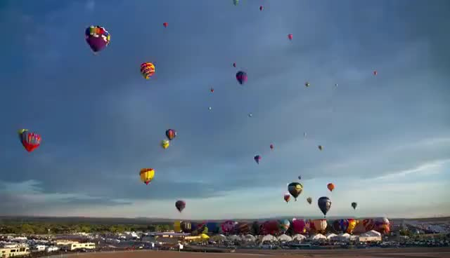 Watch and share Hot Air Balloons  |  Ytgifs GIFs on Gfycat