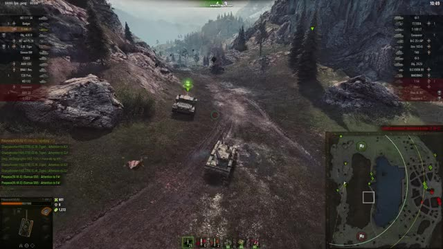 Watch and share Worldoftanks 2018-04-03 17-01-09-18 GIFs by polysmack on Gfycat
