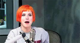 Watch and share Hayley Williams GIFs and Ryan Seacrest GIFs on Gfycat