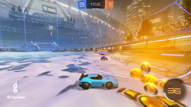 Watch Goal 5: Mit GIF by gifyourgame on Gfycat. Discover more Gif Your Game, GifYourGame, Goal, Mit, Rocket League, RocketLeague GIFs on Gfycat