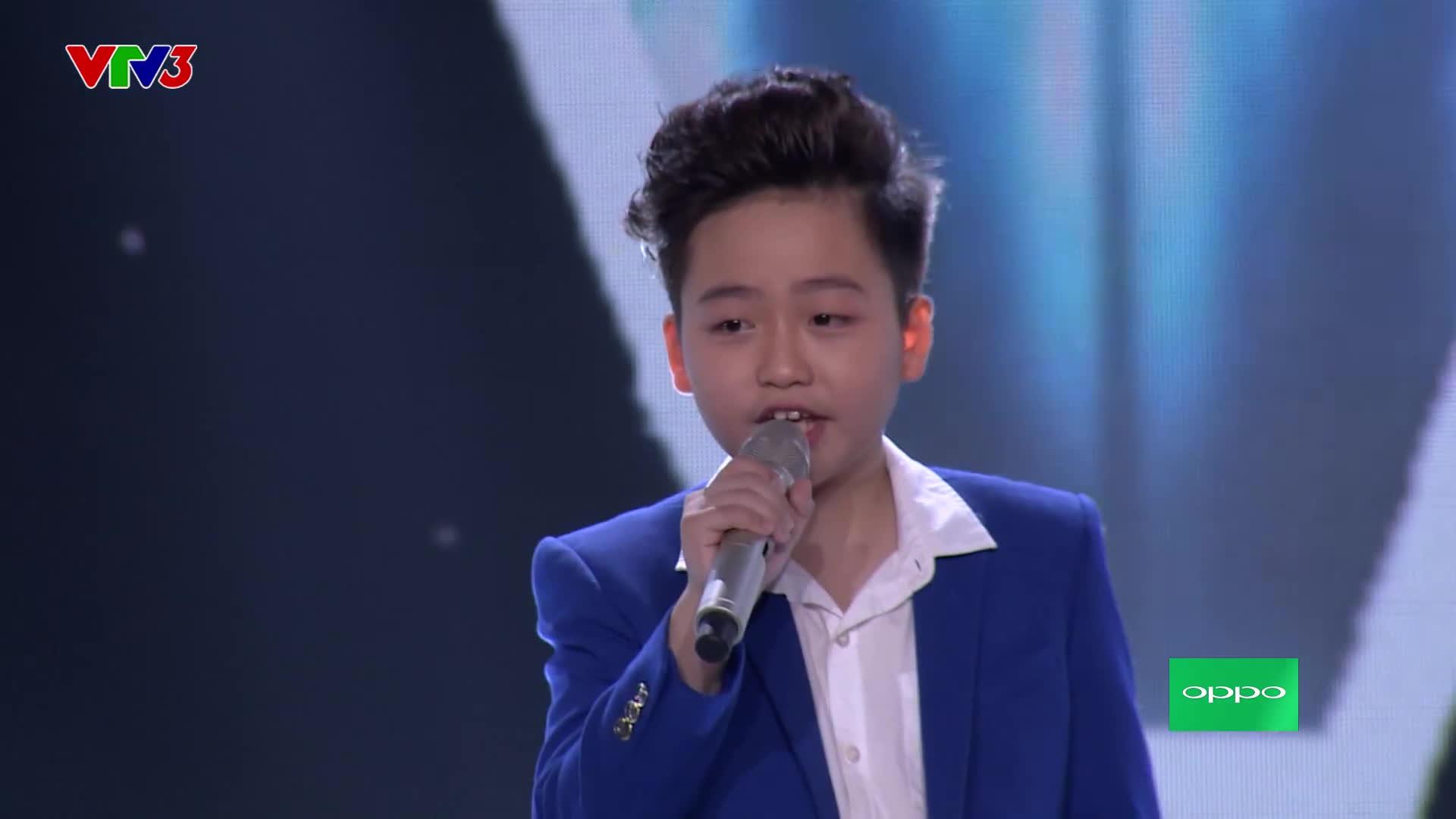 Trở lại Giọng hát Việt nhí 2017, hot boy Duy Linh một lần nữa từ chối HLV Vũ Cát Tường