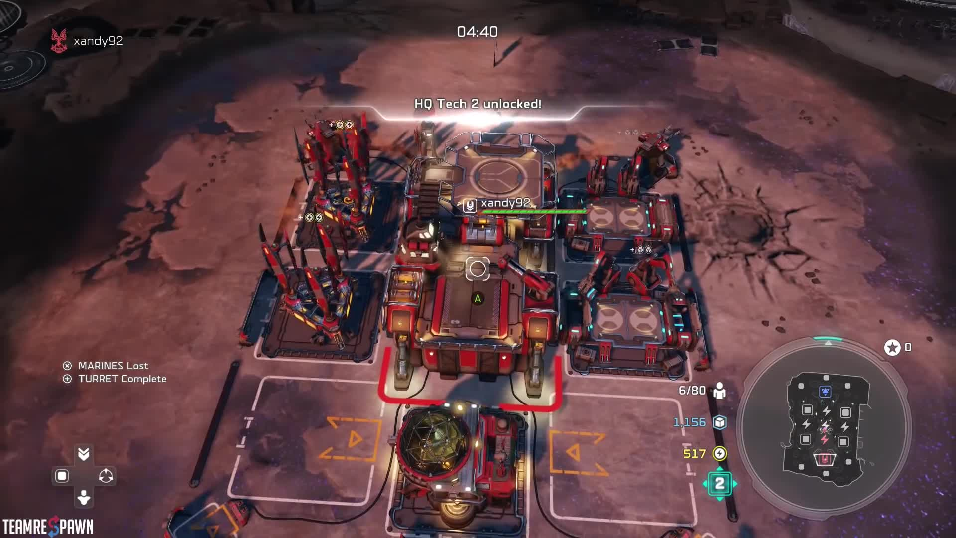 Halo, Halo RTS, Halo Wars, Halo Wars 2, Halo Wars 2 Base Building Strategy, Halo Wars 2 Strategy, RTS, Real-Time Strategy, Strategy, Team Respawn, Best Initial Base Build Order   Halo Wars 2 Strategy GIFs