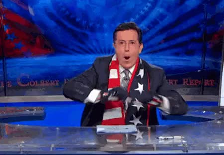 Watch this independence day GIF on Gfycat. Discover more Stephen Colbert GIFs on Gfycat