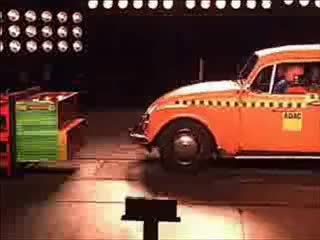Watch and share Crash Test VW Beetle GIFs on Gfycat